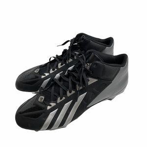 Adidas Quickframe Football Cleats 16 Black/Silver
